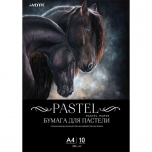 Pastellpaber de Vente A4 120gr 10lehte Must(Hobused)