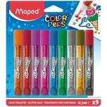 Glitterliim Maped ColorPeps 9tk 10.5ml blistril