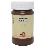 Matt akrüül Dark Brown 100ml Daily Art  DA12144198