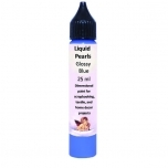 Liquid pearls,Glossy Blue Daily Art 25ml DA14105349